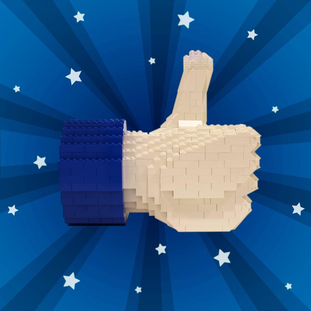 LEGO 'Likes' Social Media