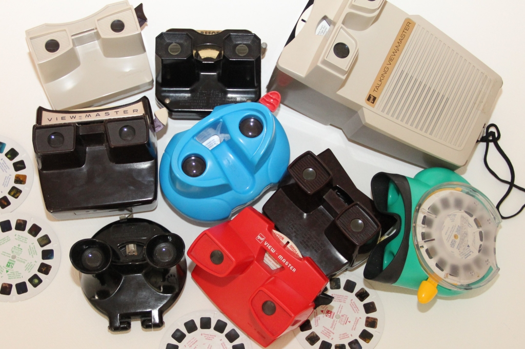 Stevyn Colgan's Viewmaster collection